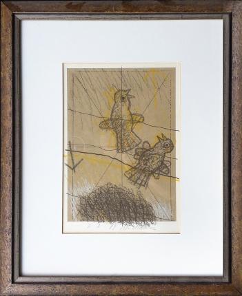Ptičji par - spomin  VI. - 3 (1999)