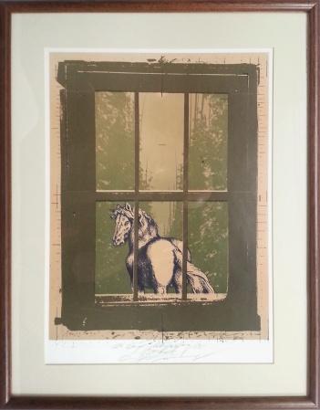 Rudolf Španzel - The horse