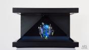 3D holografski zaslon s produktom