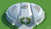 Galaxy - architectural concept